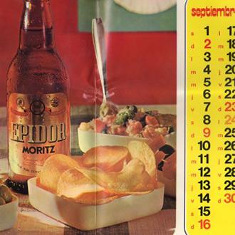 Calendario 1973.History In Pictures Of Moritz Beer